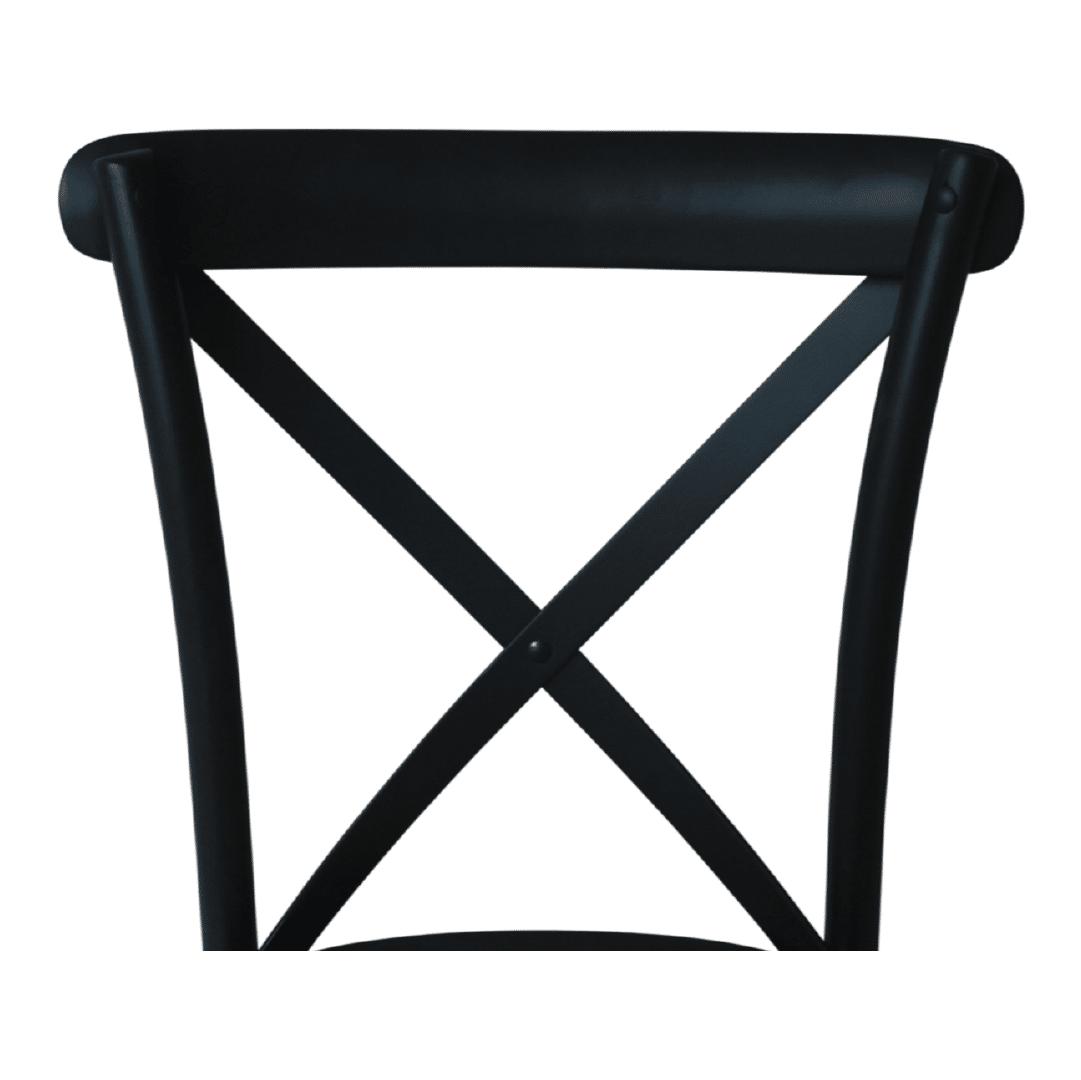 crossback-madera-negra