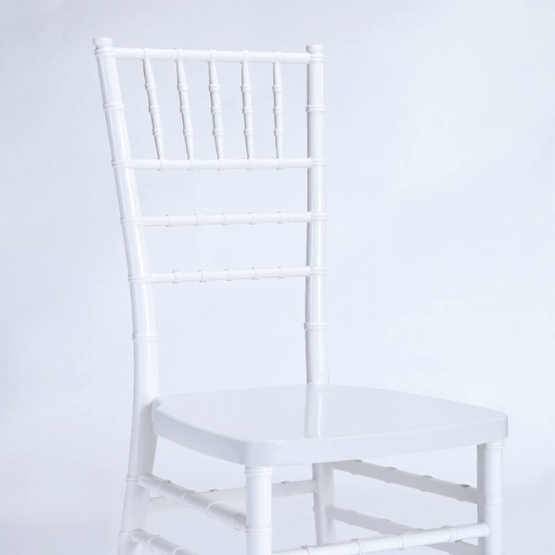 Silla Tiffany Monoblock Blanca