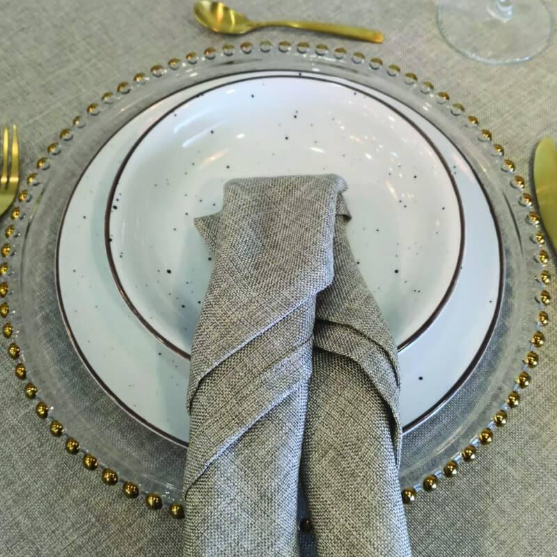 BAJOPLATO DE CRISTAL GOLD